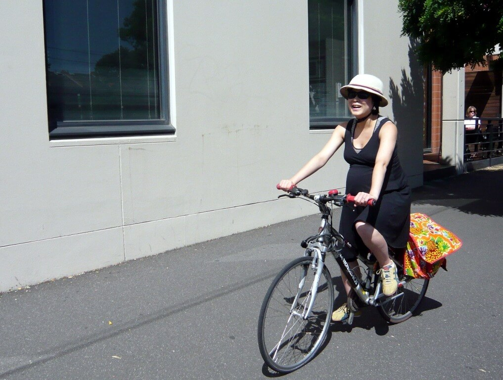 HOT: Cycling while pregnant