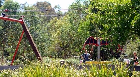 Wombat Bend Play Space, Finns Reserve, Duncan Street, Lower Templestowe