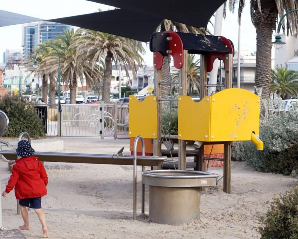 plum garland playground albert park