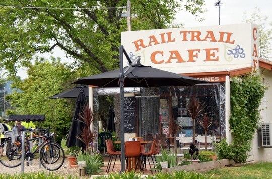 Rail Trail Cafe, 2 Service St, Porepunkah