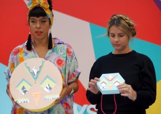 Party Pinatas with Kitiya Palaskas, Virgin Australia Melbourne Fashion Festival 2014, Highpoint Shopping Centre, 200 Rosamond Rd, Maribyrnong