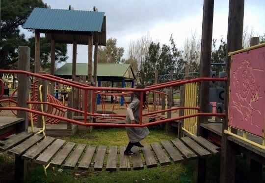 whitten oval playground