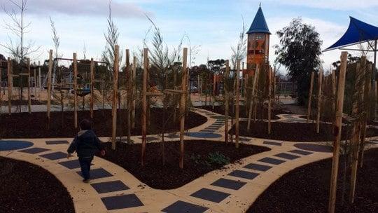 Buckingham Reserve Sunshine Rocket Ship Playground