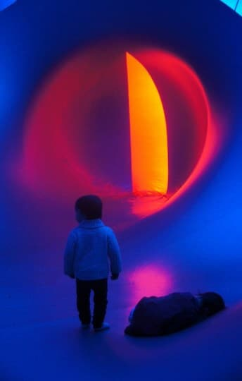 Exxopolis Luminarium, Glow Winter Arts Festival 2014, The Jam Factory rooftop carpark, 500 Chapel St, South Yarra