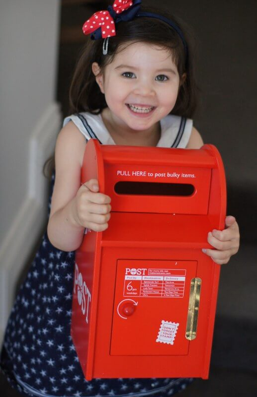 ... hit with their latest wooden toy release – the Iconic Post Box