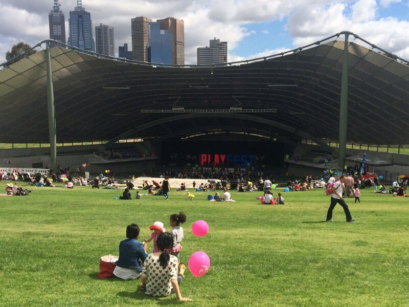 Attractive HOT: PlayFest, Sidney Myer Music Bowl, Melbourne