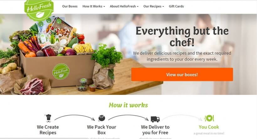 Hot hellofresh weekly delivery of recipes and fresh ingredients hot hellofresh weekly delivery of recipes and fresh ingredients forumfinder Images