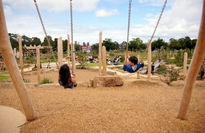 Royal Park Playground Parkville Tot Hot Or Not