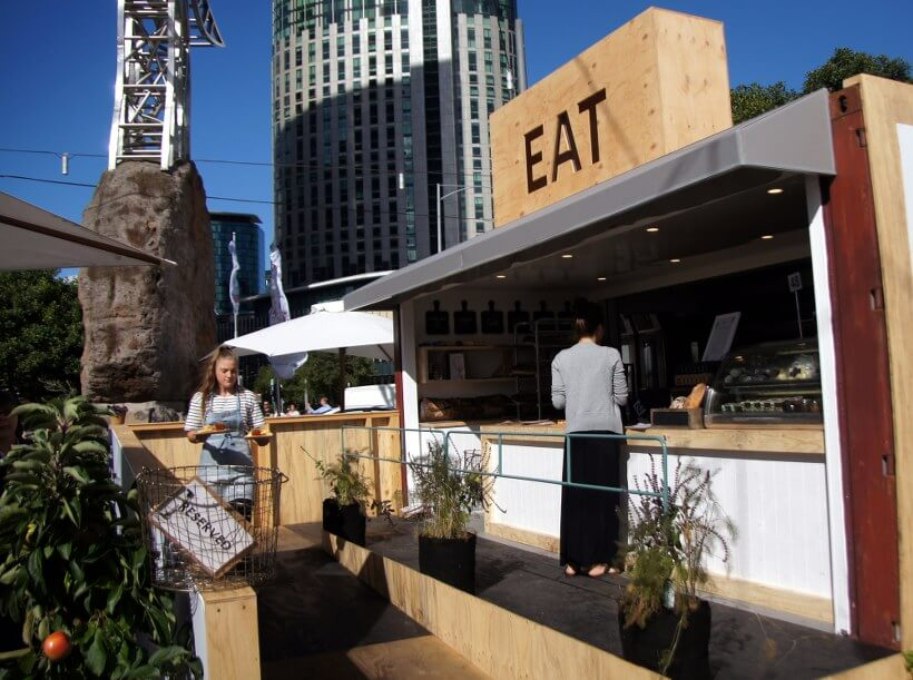 The Artisan Bakery & Bar, Melbourne Food and Wine Festival 2015, Queensbridge Square, Southbank