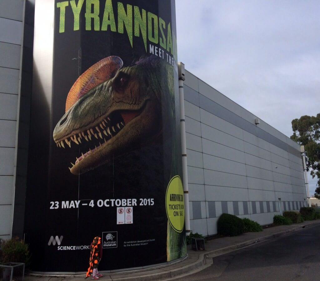 Tyrannosaurs Scienceworks