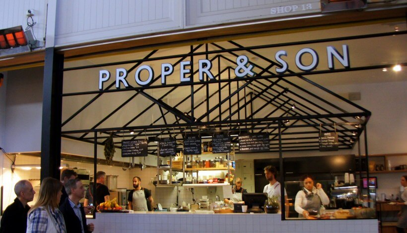 Proper Son Shop 13 14 South Melbourne Market 322 Coventry Street South Melbourne 7 HOT: Proper & Son, Shop 13 14 South Melbourne Market, 322 Coventry Street, South Melbourne