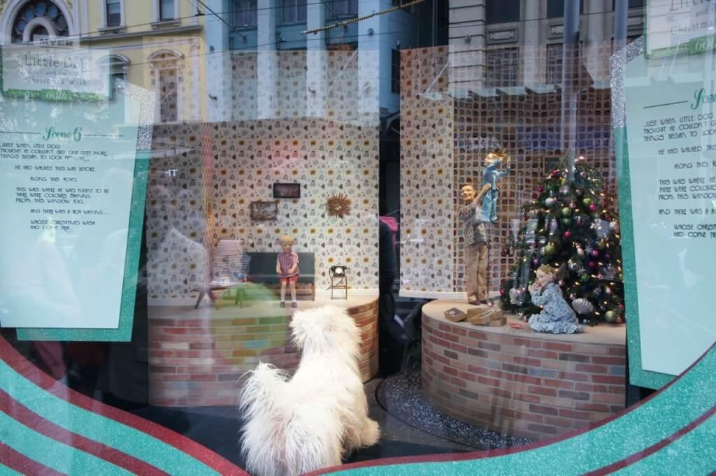 myer christmas windows 2015