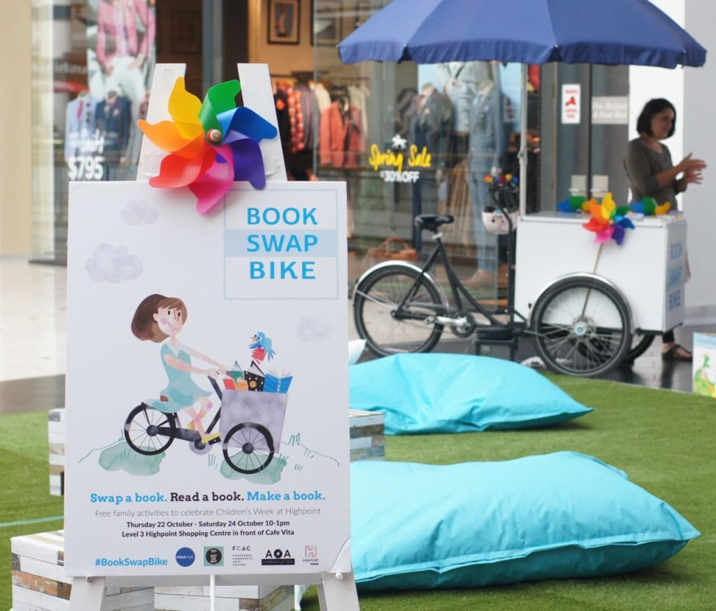Book swap bike