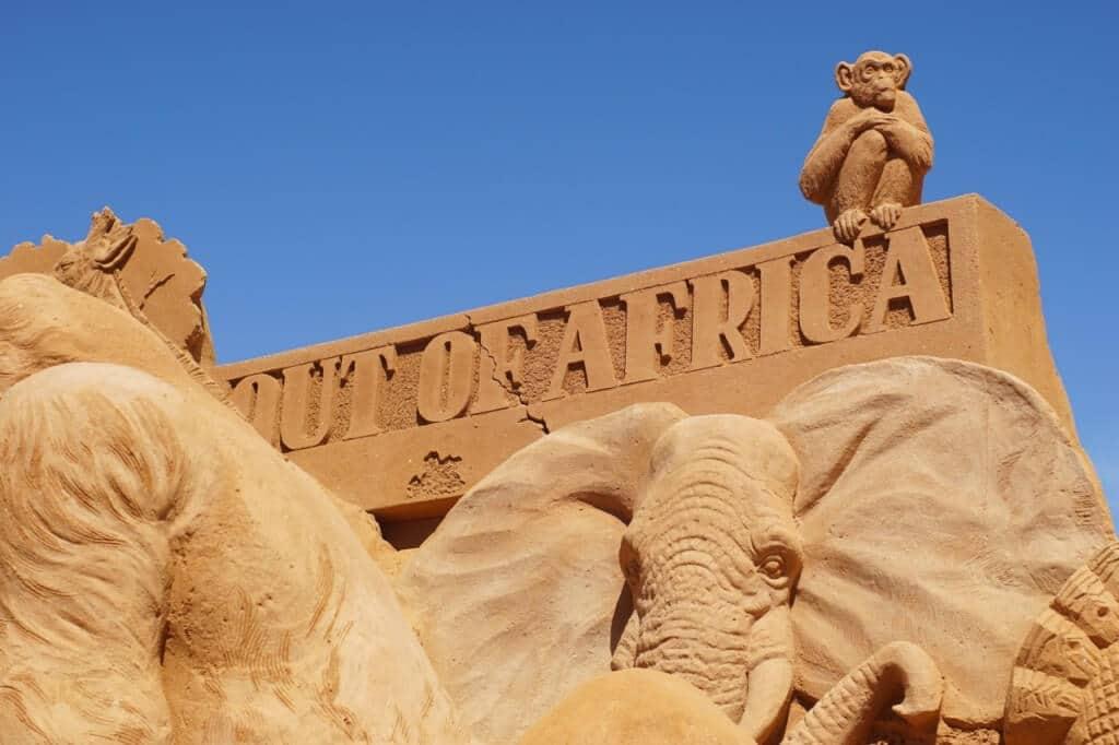 sand sculpting frankston