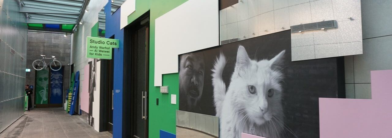 HOT: Studio Cats: Andy Warhol   Ai Wei Wei For Kids, National Gallery Of Victoria, 180 St Kilda Rd, Melbourne