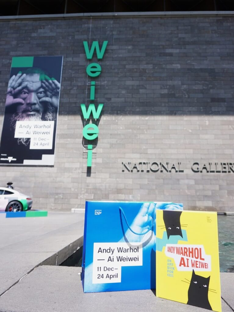Studio Cats: Andy Warhol | Ai Wei Wei for Kids, National Gallery of Victoria, 180 St Kilda Rd, Melbourne