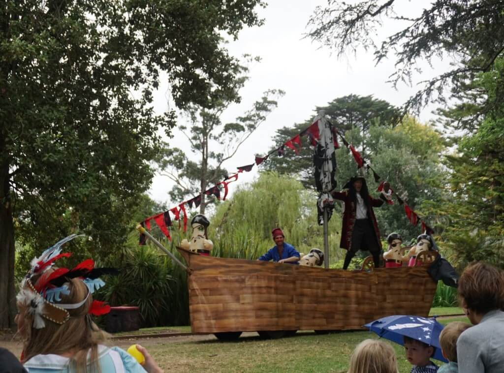 Alice and Peter Pan in Never Neverland by The Australian Shakespeare Company, Rippon Lea House & Gardens, 197 Hotham St, Elsternwick