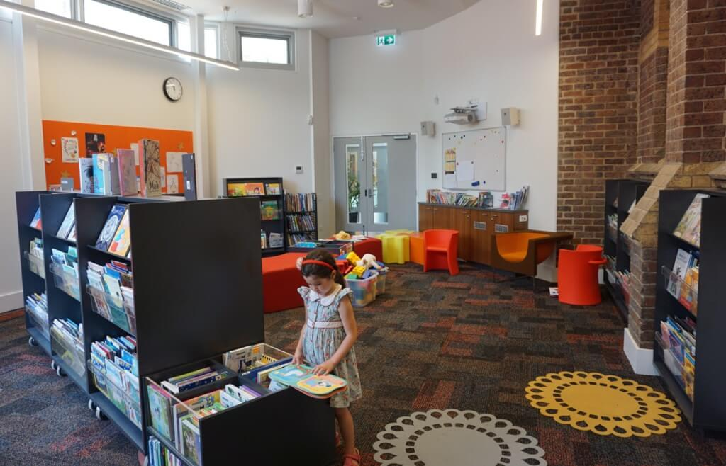 Kathleen Syme Library and Community Centre, 251 Faraday St, Carlton