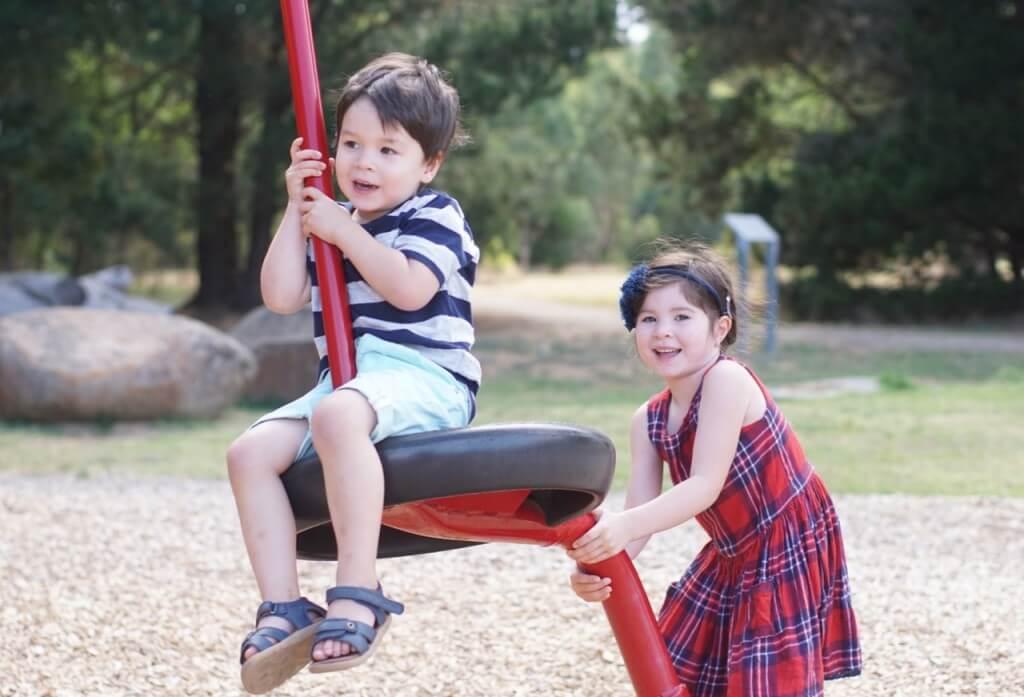 Wooden Children's Park - 4