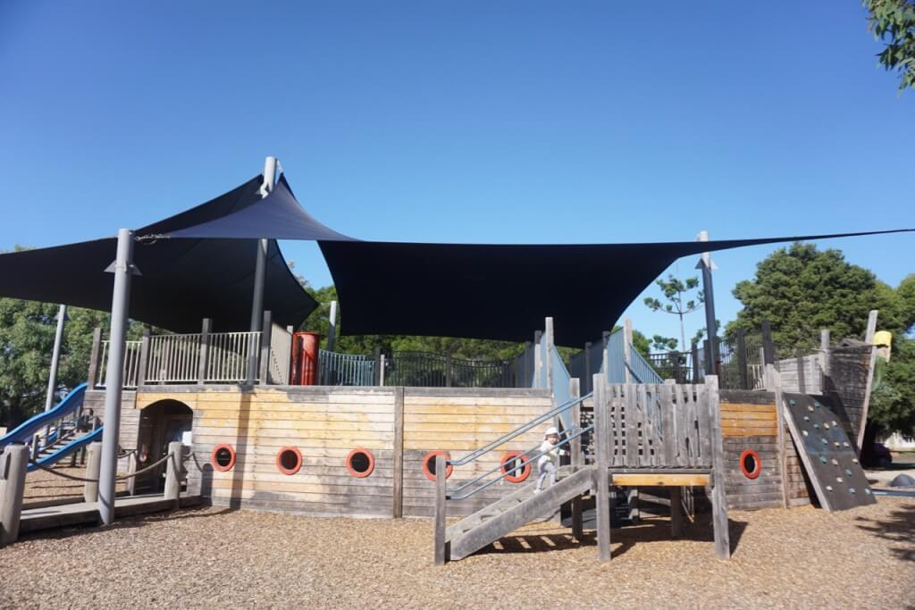 Pirate Ship playground, Rob Dore Reserve, Carrum