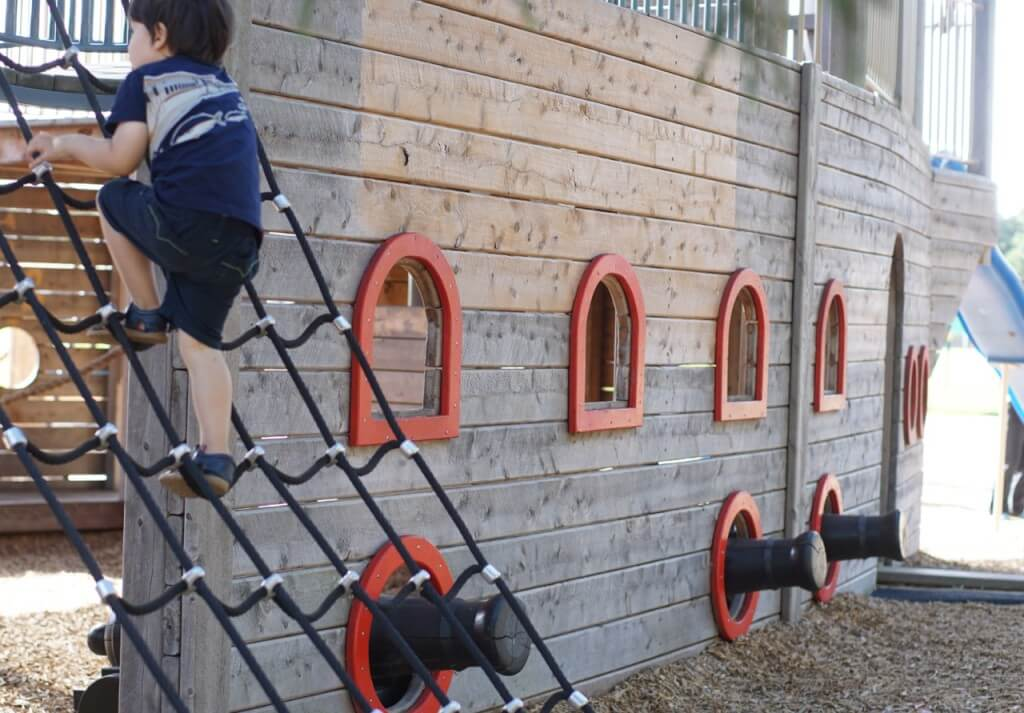 Hot Pirate Ship Playground Rob Dore Reserve Carrum Tot Hot Or Not