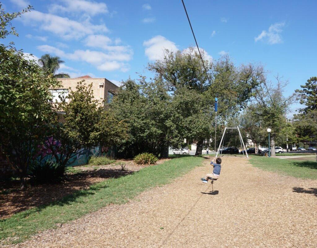 Alma Park East playground, Alma Rd, St Kilda East