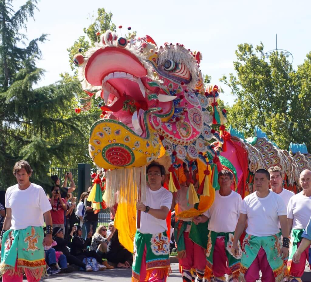 bendigo easter festival gala parade