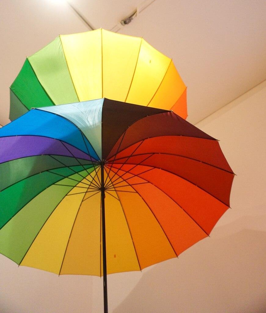 Dancing Umbrellas Heide Museum of Modern Art