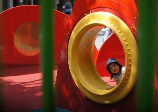 Fun Loong Hargreaves St Mall Playground Bendigo