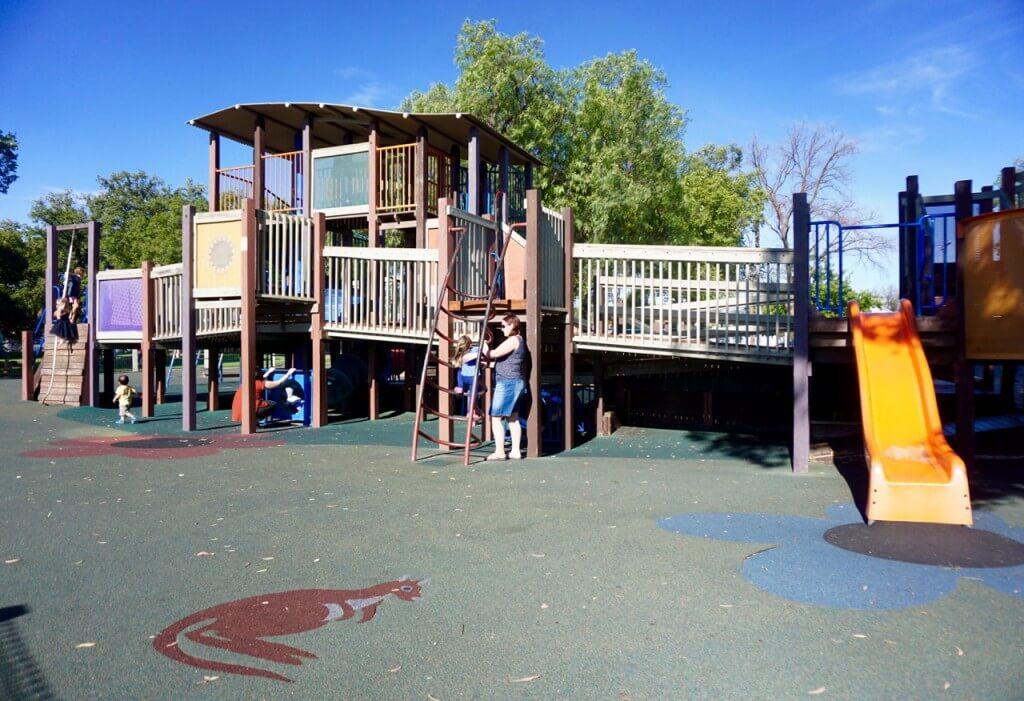 Lake Weerooma Playground Bendigo