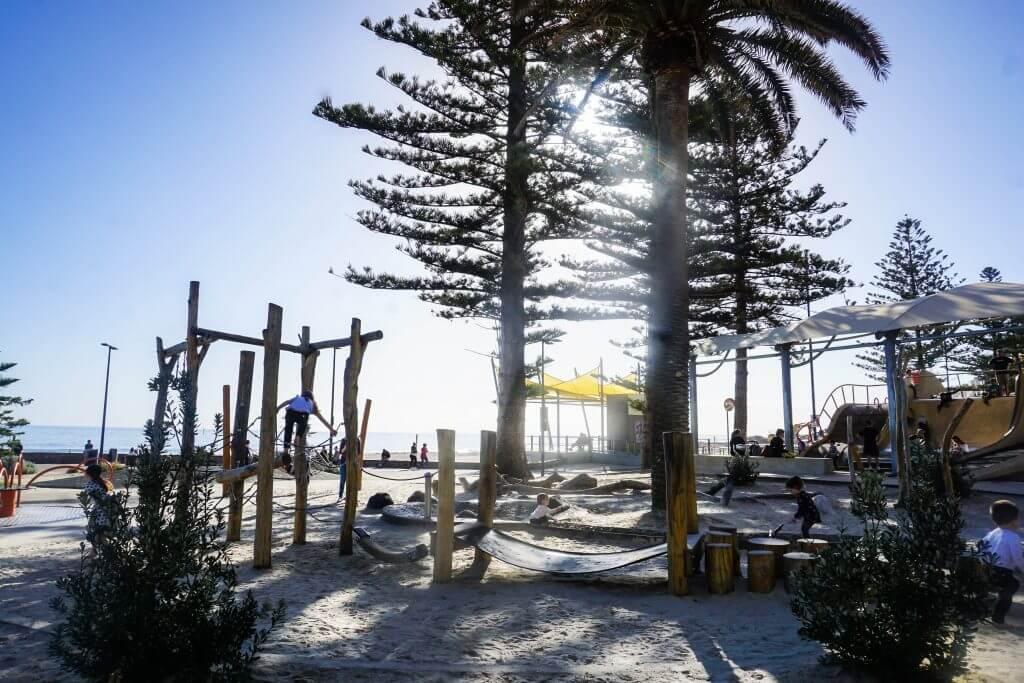 glenelg beach playground