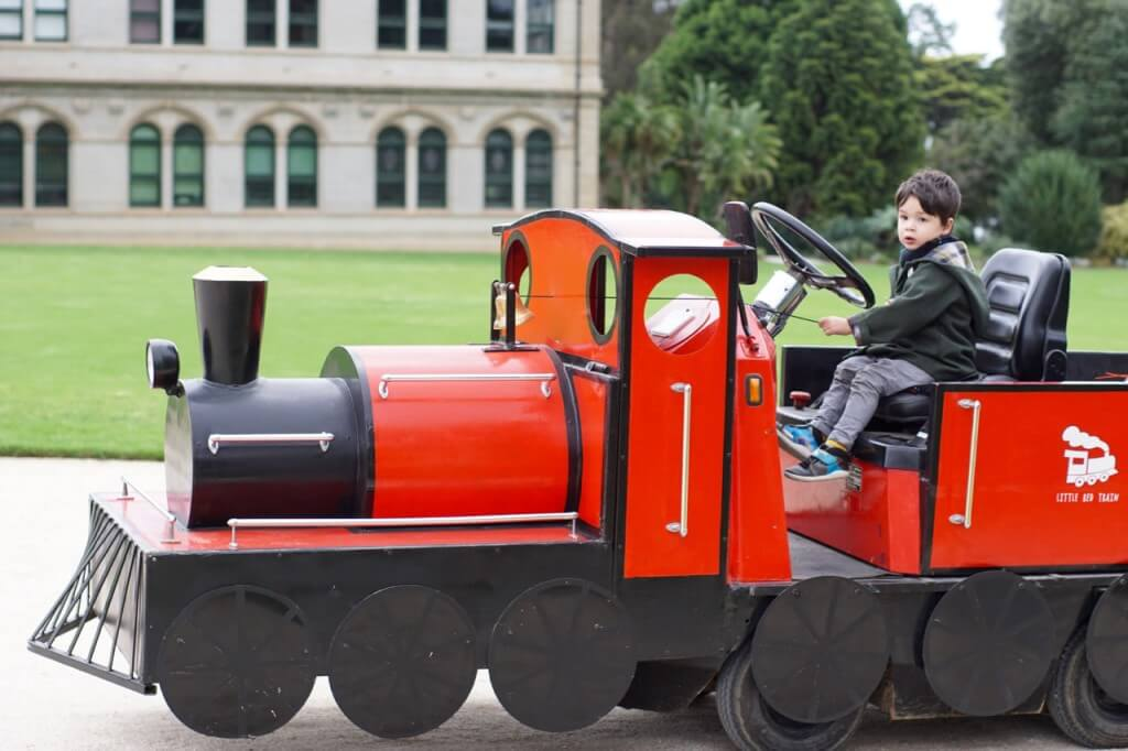 Little Red Train, Werribee Park Mansion, K Road, Werribee South