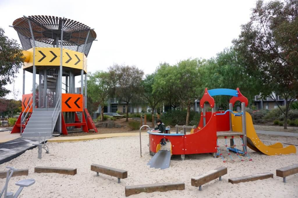 Ashcroft Park Control Tower playground, Mandrel Drive, Williams Landing