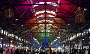 Queen Victoria Market Winter Night Market