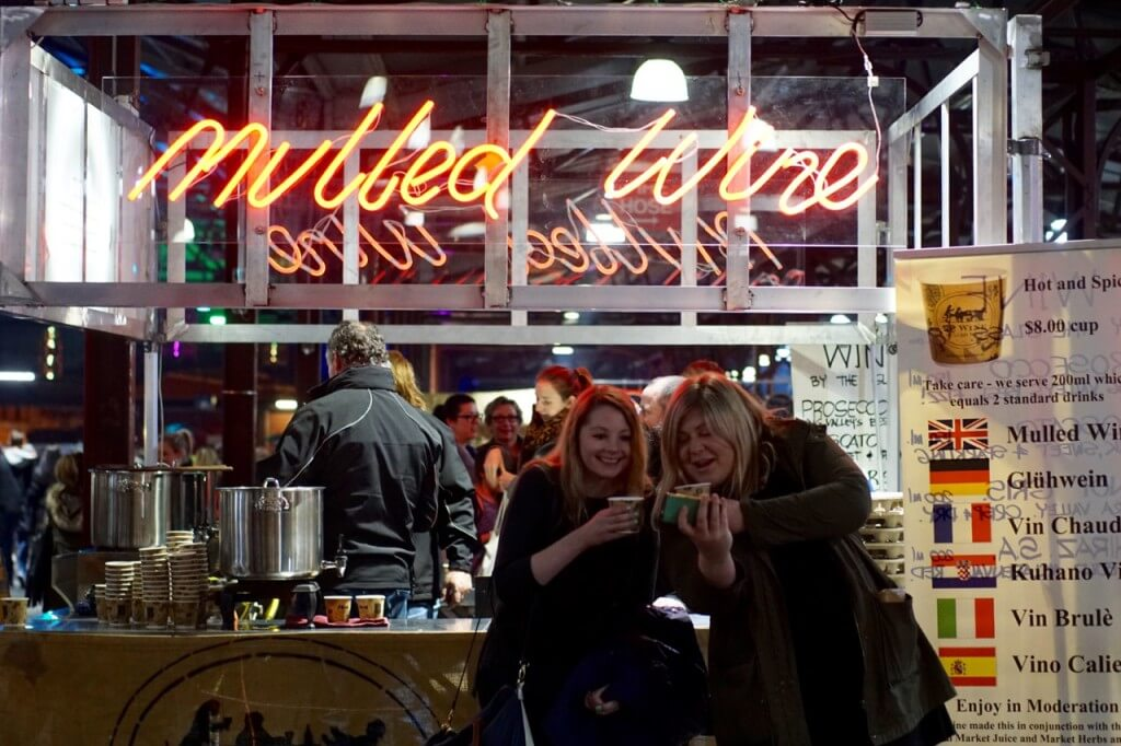 Queen Victoria Market Winter Night Market