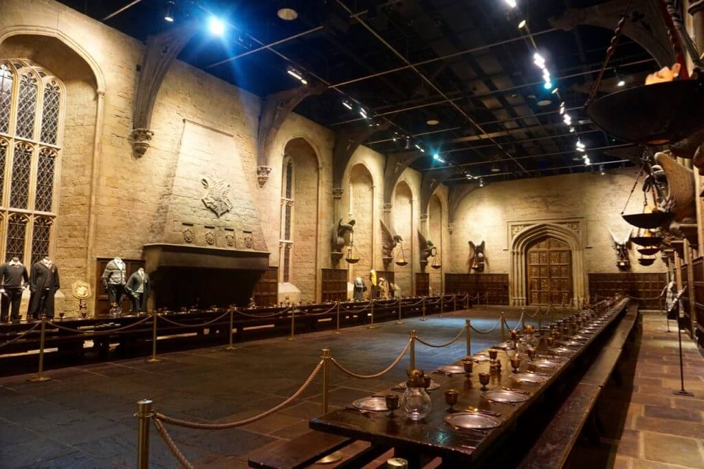 Warner Bros The Making of Harry Potter Studio Tour London