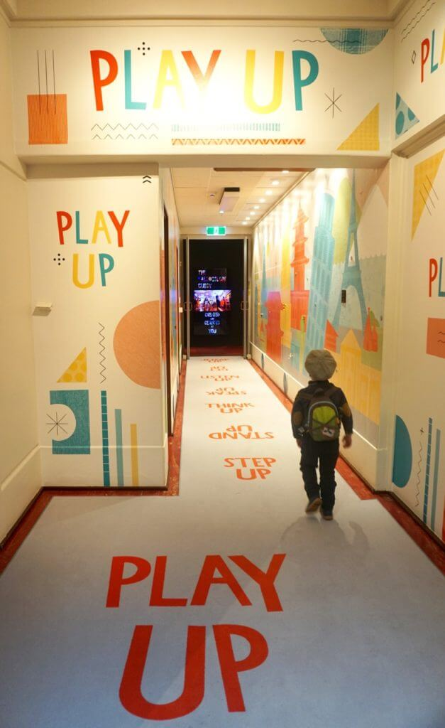 Play Up, Museum of Australian Democracy at Old Parliament House, 18 King George Terrace, Parkes, Canberra