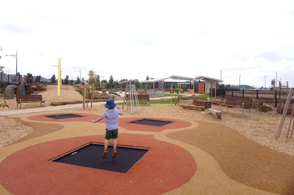 Atherstone Playground Bridge Road Regional Playspace Melton South