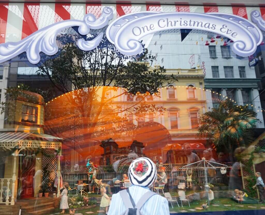 myer christmas windows 2016
