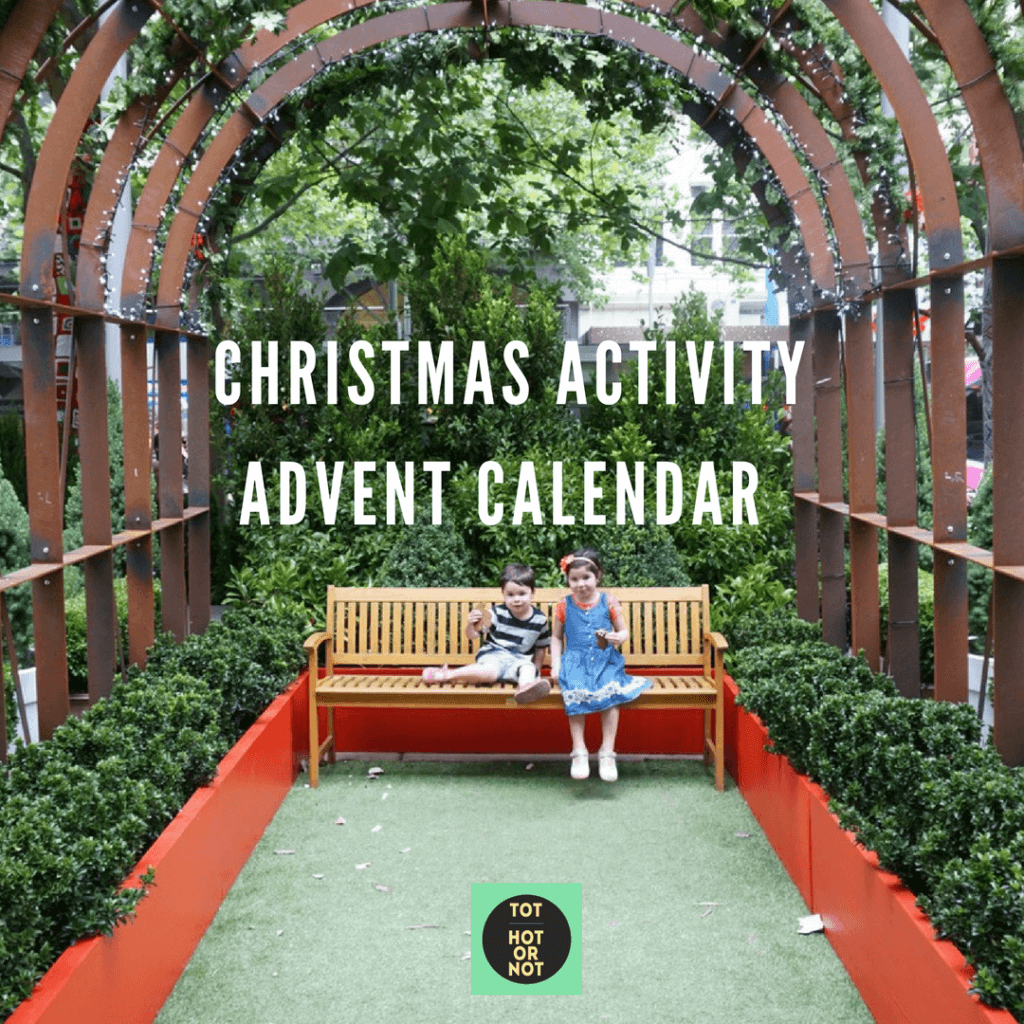 christmas activity advent calendar