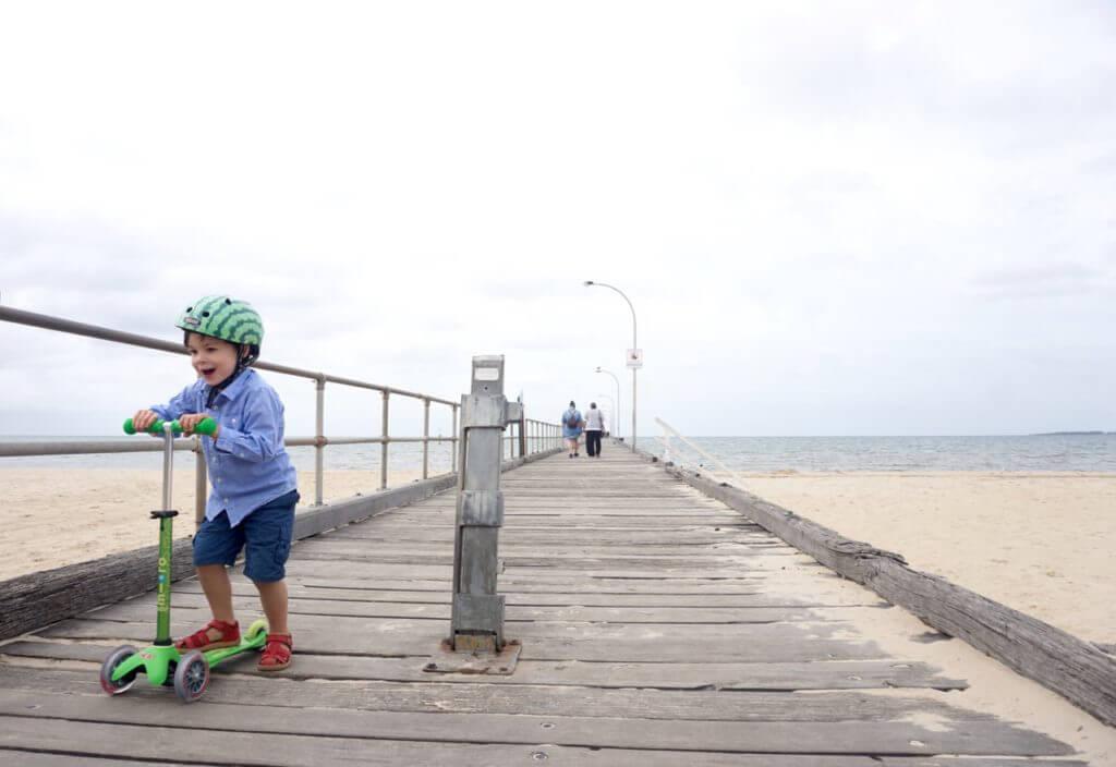 Micro Scooters Altona Beach