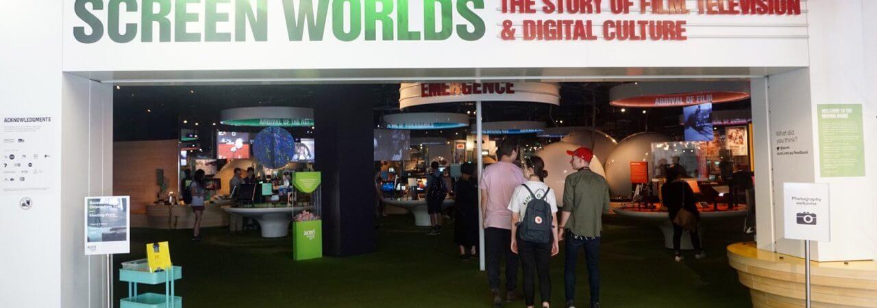 HOT: Screen Worlds, ACMI