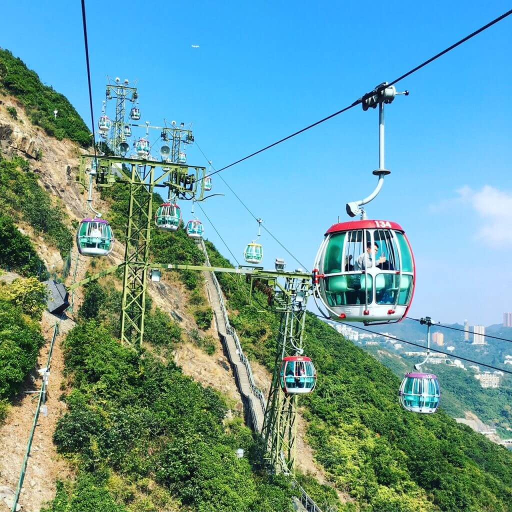 Ocean Park Hong Kong Cable Car