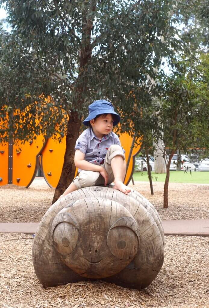 Eltham Lower Park playspace