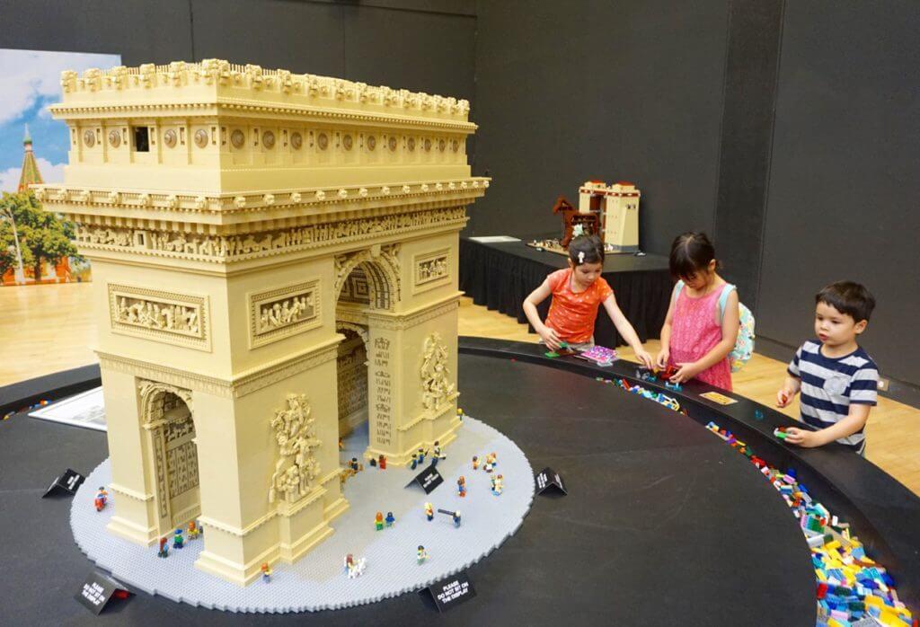 Brickman Wonders Of The World Lego Exhibition Melbourne