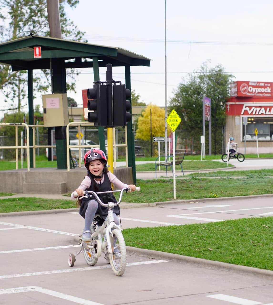 Essendon Traffic School Outdoor Bike Track For Kids Tot Hot Or Not