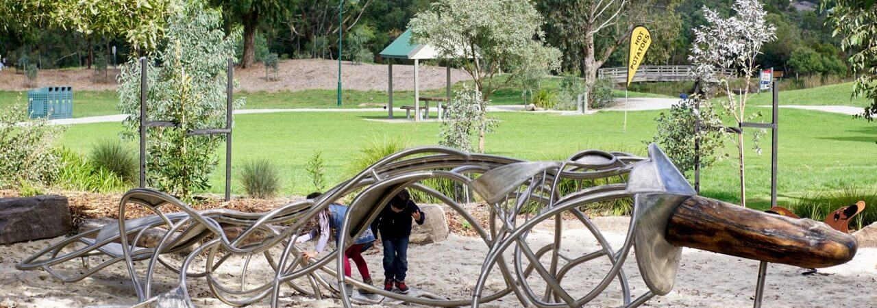 HOT: Lillydale Lake Playground, Lilydale