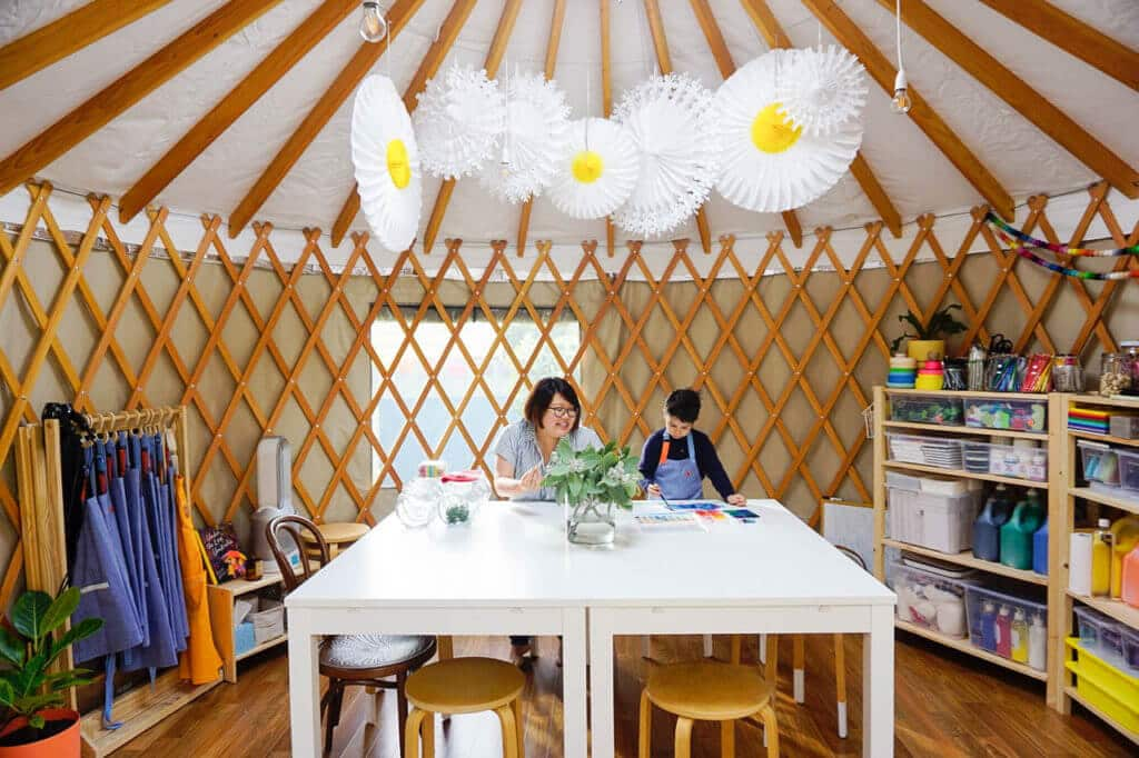 little art yurt