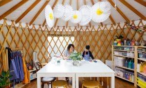 Little Art Yurt