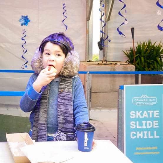 Skate Slide Chill South Wharf